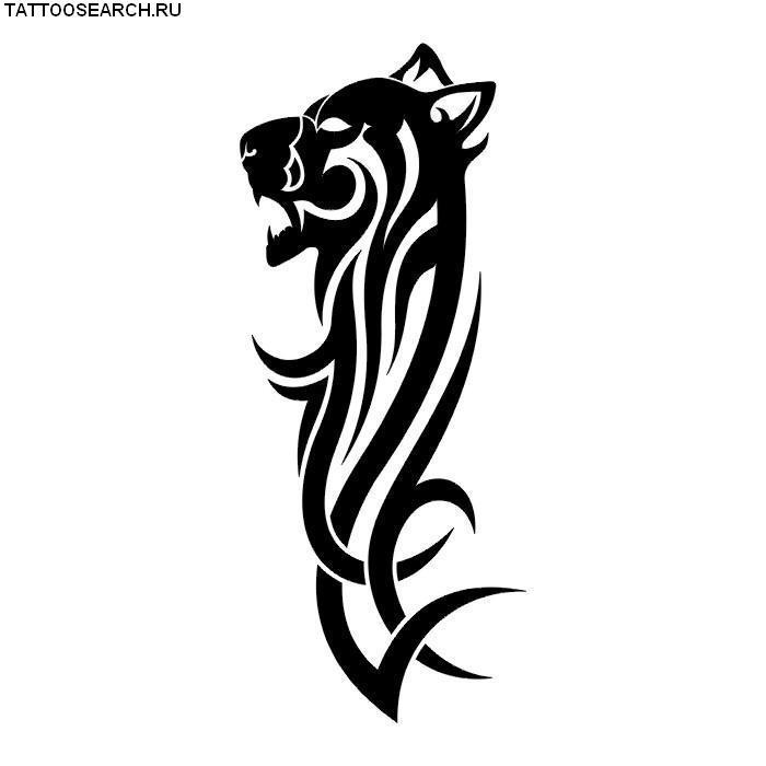 рисунки черно белые тату